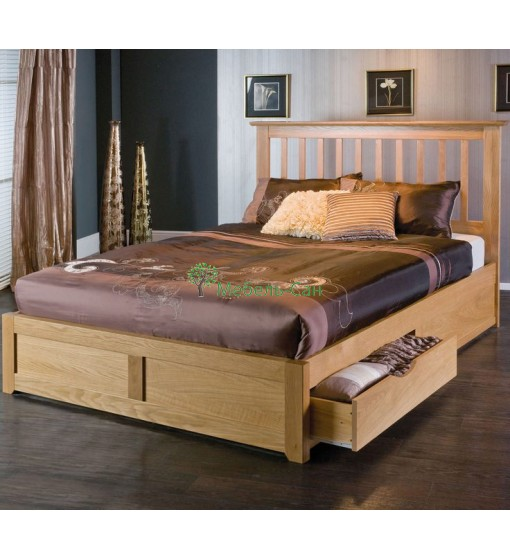 simple double bed designs in wood - HD1200×815
